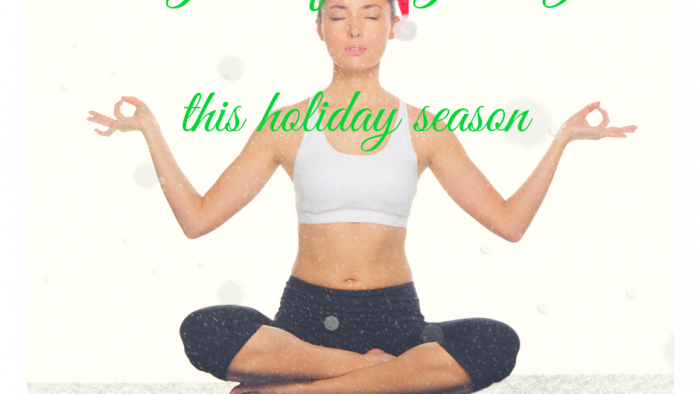 get rid of stress during the holidays