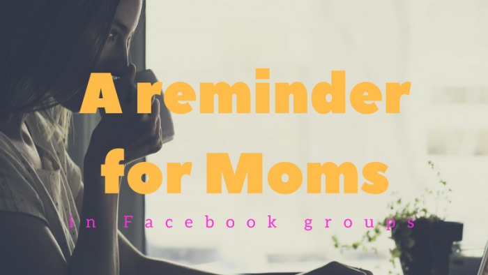 Facebook groups for Moms